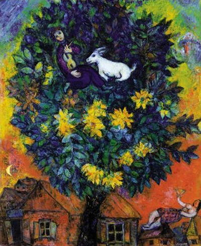 Autumn in the Village Marc Chagall