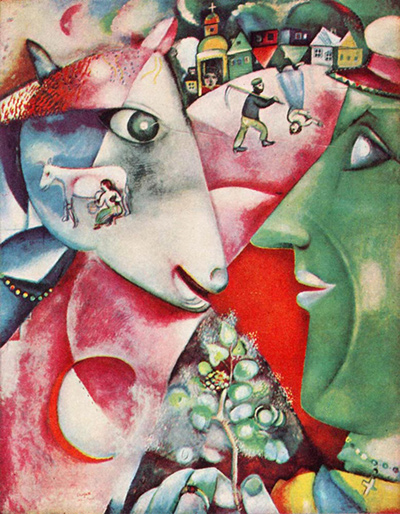 I and the Village Marc Chagall