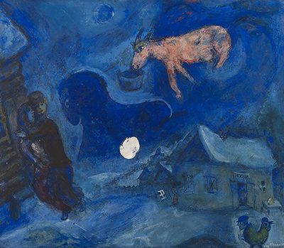 In My Country (Dans Mon Pays) Marc Chagall