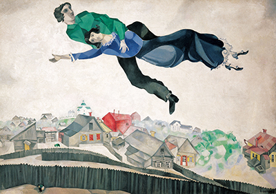 Over the Town Marc Chagall