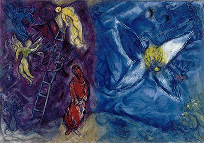 The Jacob's Dream Marc Chagall