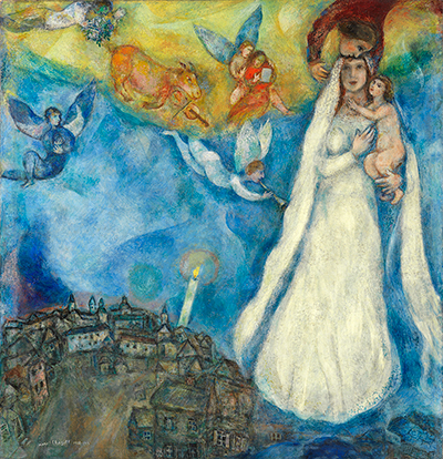 The Madonna of the Village Marc Chagall